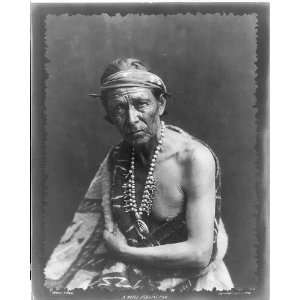 Navaho/Navajo Indians Noted Medicine Man,c1914,Pennington