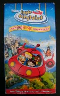 Disney Little Einsteins Our Huge Adventure VHS Movie