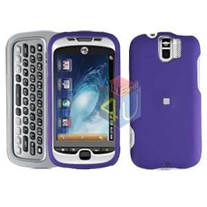 HTC Mytouch Slide 3G Purple Rubberized Hard Protector Case