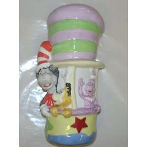 dr suess cat in the hat & whozits ceramic 10 bank Toys