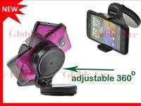 Mini Car Mount Holder for Mobile Phone iPhone 4GS Samsung Galaxy S2