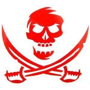 Tampa Bay Buccaneers Skull and Sword Decal: Sports