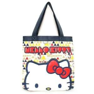 Tote Bag   Hello Kitty   Sanrio Kitty Cat Geo Hang Bag