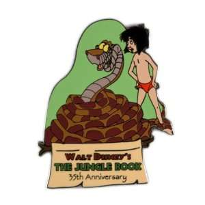 Disney Pins Jungle Book 35th Mowgli & Kaa: Toys & Games