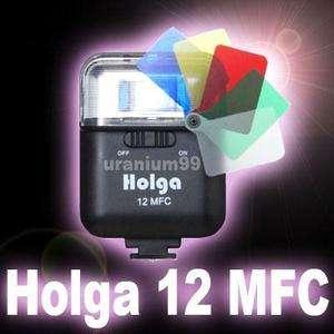 HOLGA 12MFC Multi Color Flash Black 120 GN N 135 BC E P1 Diana F+