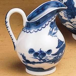 Mottahedeh Blue Canton Small Pitcher 5 in Kitchen