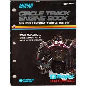 Mopar Circle Track Engine Book   Speed Secrets and