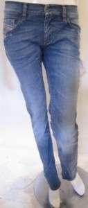 DIESEL LIVY 8W7 JEANS SKINNY SEXY BLUE WOMEN $170 BNWT