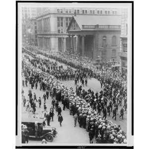 Richard Byrd,NY,Grover Whalen,Floyd Bennett 1927,parade