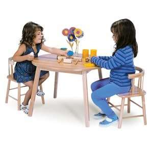 Whitney Brothers Childrens Table and Two Chair Set