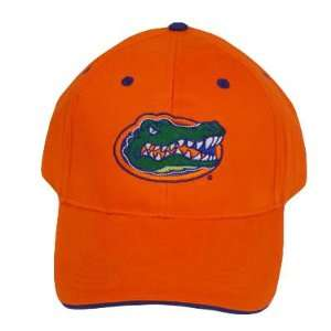 NCAA UNIVERSITY FLORIDA GATORS ORANGE COTTON HAT CAP