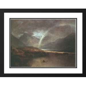 Turner, Joseph Mallord William 36x28 Framed and Double Matted