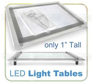 A4 ULTRA SLIM LED LIGHT BOX Tattoo Supply Ink Drafting