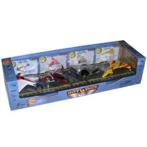 Hot Wings Experimental 4 Plane Gift Set: Toys & Games