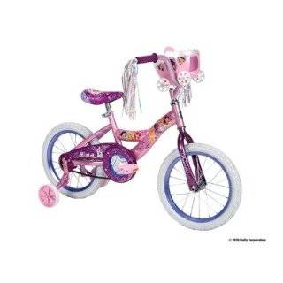 Huffy Disney Princess Bike (Shimmer Pink / Glitter Grape, Medium/16
