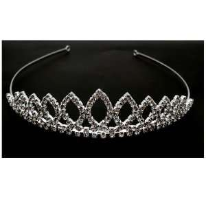 Acosta Jewellery   Magical Diamante Crystal Tiara   Bridal