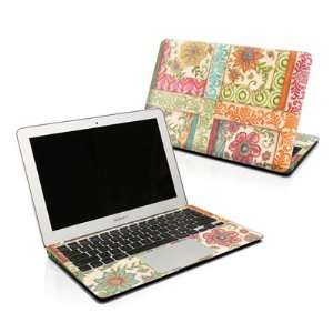 Ikat Floral Design Protector Skin Decal Sticker for Apple MacBook Pro