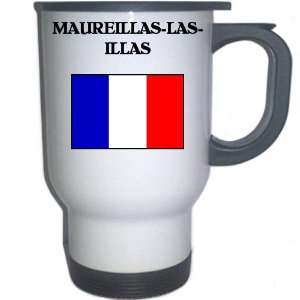 France   MAUREILLAS LAS ILLAS White Stainless Steel Mug
