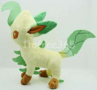 Pokemon New 9.5 Anime Leafeon Plush Toy Doll PB14