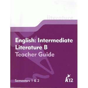 English Intermediate Literature B Teacher Guide Semesters 1 and 2