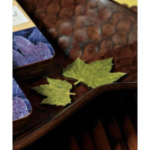 Maple Shaped Wooden Die Cut Leaves In Woods Green W9044