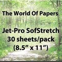 Jet Pro SS Inkjet Transfer Paper for light Fabrics, Heat, Press, Iron
