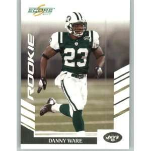 2007 Score #FS 312 Danny Ware RC   New York Jets (Factory Set Update