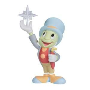 Precious Moments Porcelain/Acrylic Disney Jiminy Cricket Holding Star