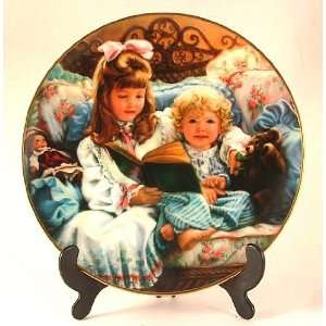 Reco Night Time Story plate by Sandra Kuck   Barefoot