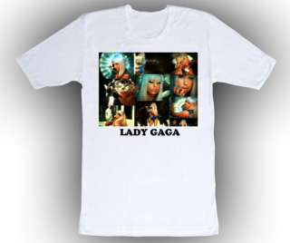 Personalized Custom Lady Gaga Birthday T Shirt Gift