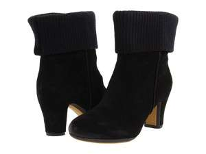 Kenneth Cole Womens Black Look At U Suede Casual Boots