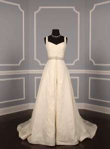 AUTHENTIC Anne Barge La Fleur LF177 Ivory Silk Taffeta Bridal Wedding