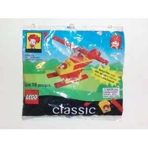 1999 McDonalds Happy Meal Toy  Lego Classic (2032) Ronald