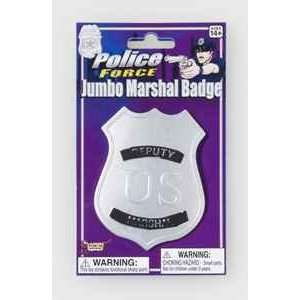 Jumbo Marshal Badge: Beauty