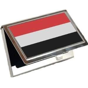 Yemen Flag Business Card Holder