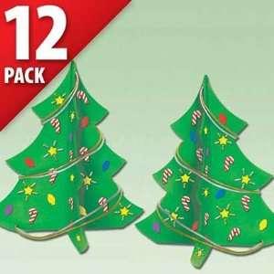 Foam Craft Kits   Christmas Trees 12ct Toys & Games