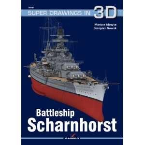 Kagero Super Drawings 3D: Battleship Scharnhorst: Toys