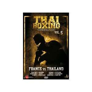 Thai Boxing Vol 5 France vs Thailand DVD Sports