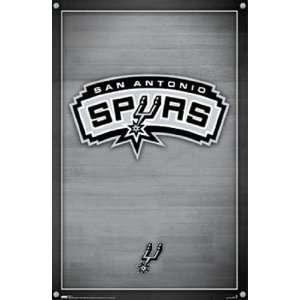 San Antonio Spurs   Logo by Unknown 22x34 Sports