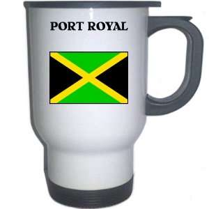 Jamaica   PORT ROYAL White Stainless Steel Mug