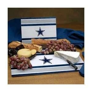 Dallas Cowboys Glass Cutting Board Set