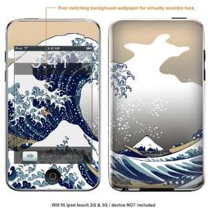 Protective Decal Skin Sticker for Ipod Touch 2G 3G Case cover