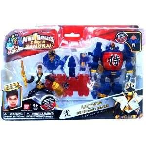 Power Rangers Samurai Vehicle Action Figure LightZord Super Mega