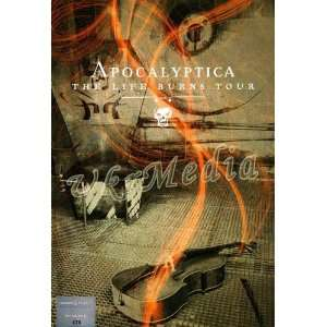 The Life Burns Tour   Apocalyptica DVD Movies & TV