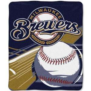 Milwaukee Brewers 50x60 Big Stick Super Plush Throw