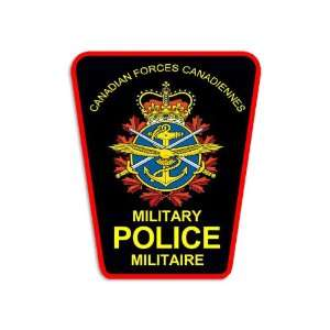 Canadian Forces Military Police Badge Sticker