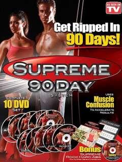 Supreme 90 Day System  Complete 10 DVD Set