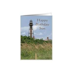 Happy Birthday Son, Sanibel Island Light Card: Toys & Games