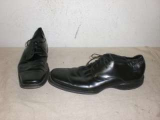 KENNETH COLE Mens Black Dress Oxfords Shoes Size 11 US