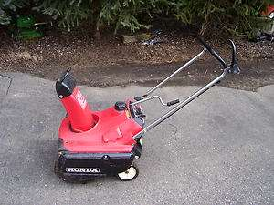 HONDA HS35 GAS SNOWBLOWER / SNOW BLOWER , PULL START :
